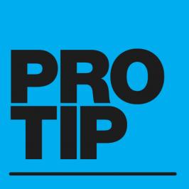 Pro Tip